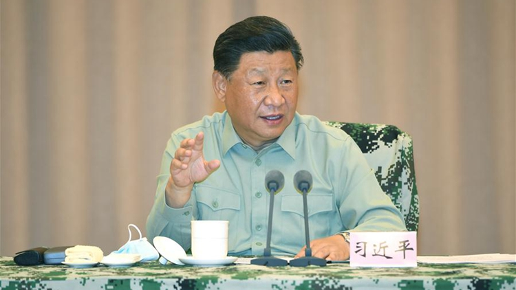 Xi instructs army to complete follow-up flood control work